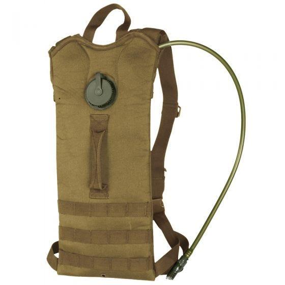 Mil-Tec Basic Trinkrucksack mit MOLLE-Aufnahmeschlaufen Coyote