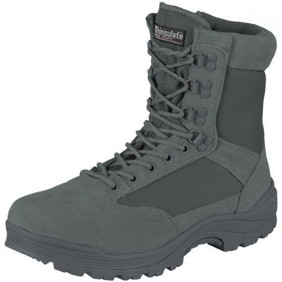Mil-Tec Taktische Stiefel mit seitlichem Reißverschluss Urban Grey