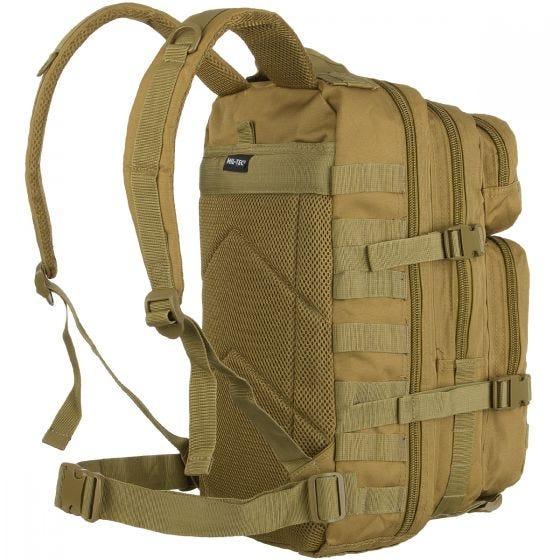 Mil-Tec US Assault Pack Small Einsatzrucksack mit MOLLE-Befestigungssystem Coyote