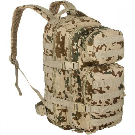 Mil-Tec US Assault Pack Small Einsatzrucksack mit MOLLE-Befestigungssystem Tropentarn
