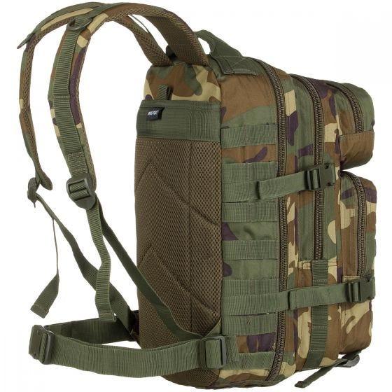 Mil-Tec US Assault Pack Small Einsatzrucksack mit MOLLE-Befestigungssystem Woodland
