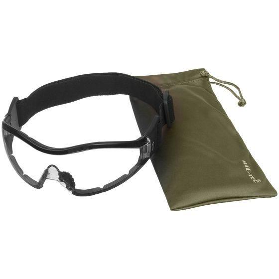 Mil-Tec Commando Para Schutzbrille Transparent