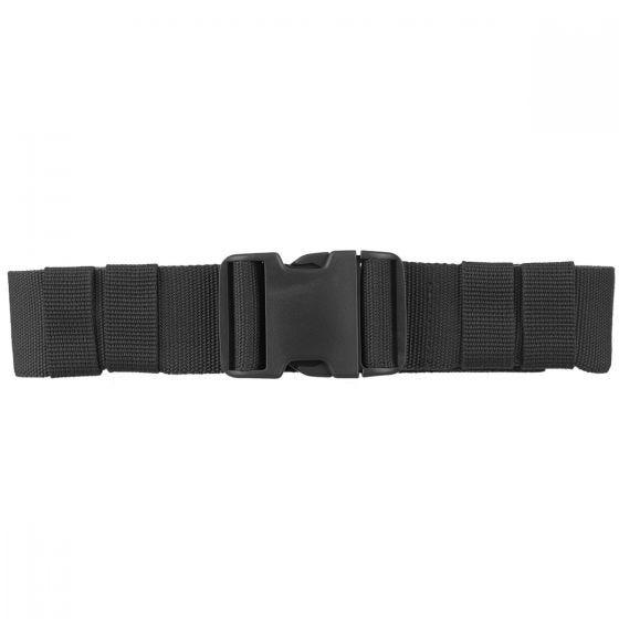 Mil-Tec Army 50mm Militärgürtel mit Steckschnalle Schwarz