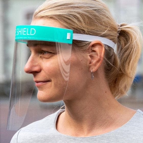 Swiss Eye Gesichtsschutzschild
