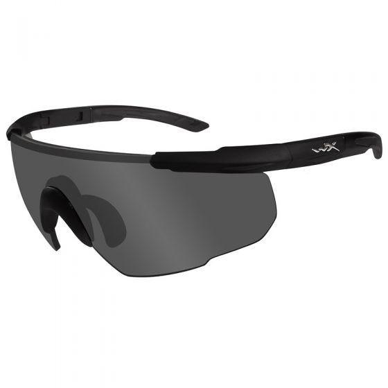 Wiley X Saber Advanced Schutzbrille - Glas in Smoke Grey / Gestell in Mattschwarz