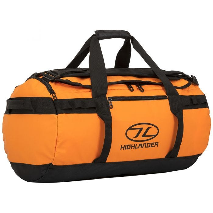 Highlander Storm Kitbag 65L Orange