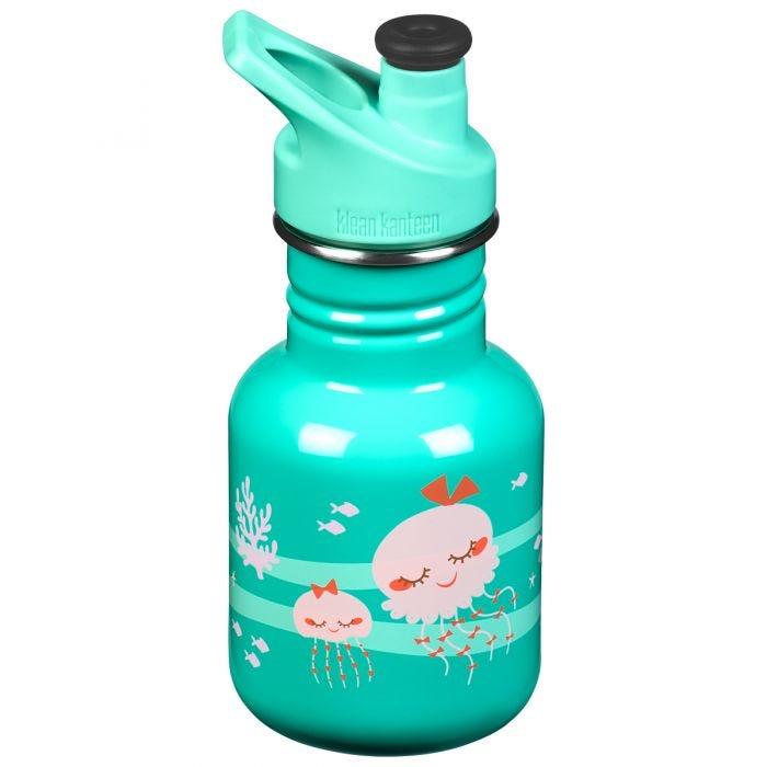 Kid Kanteen Sport 355 ml Trinkflasche mit Sport Cap 3.0 Jellyfish