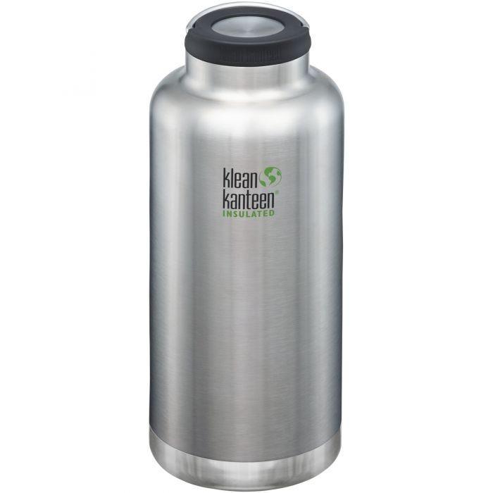 Klean Kanteen TKWide 1900ml Isolierte Trinkflasche mit Loop Cap Brushed Stainless