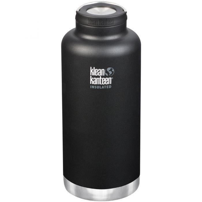 Klean Kanteen TKWide 1900ml Isolierte Trinkflasche mit Loop Cap Shale Black