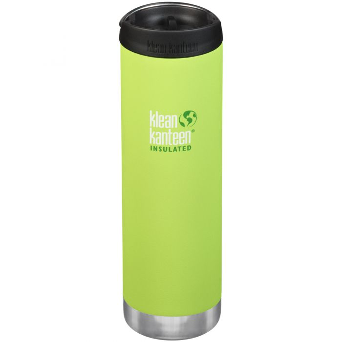 Klean Kanteen TKWide Insulated 591ml Trinkflasche mit Café Cap 2.0 Juicy Pear