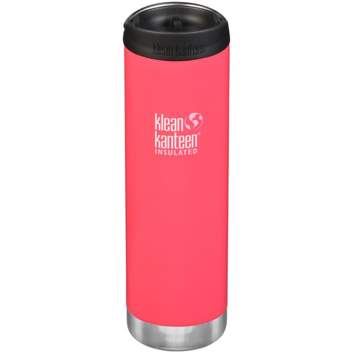 Klean Kanteen TKWide 591ml Insulated Bottle Cafe Cap Melon Punch