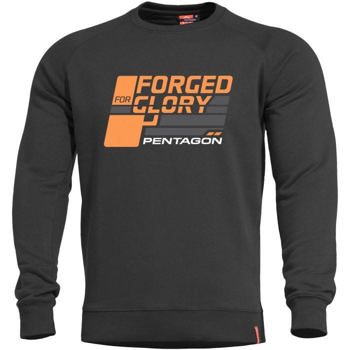 Pentagon Hawk Sweater Forged for Glory Black