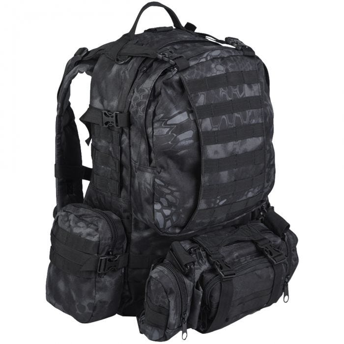 Mil-Tec Defense Pack Assembly Rucksack Mandra Night