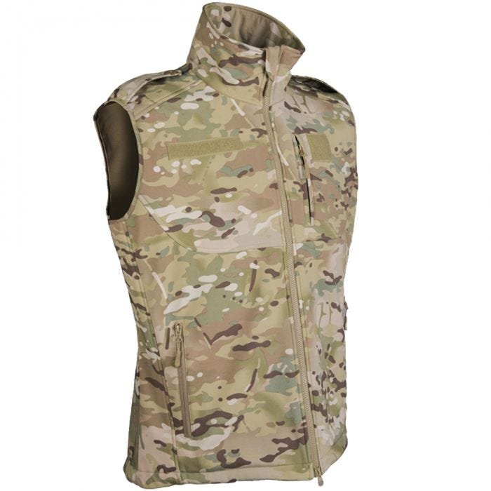 Mil-Tec Softshell-Weste Multitarn