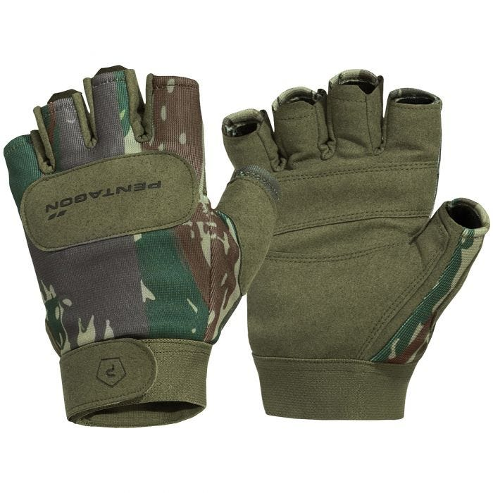 Pentagon 1/2 Duty Mechanic Handschuhe Greek Lizard