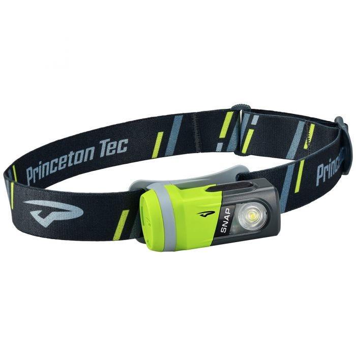 Princeton Tec Snap 200 White LED Head Lamp Green/Black