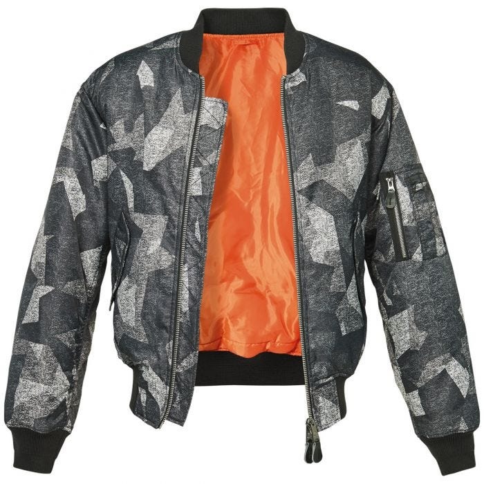Brandit MA1 Camo Jacke Night Camo Digital