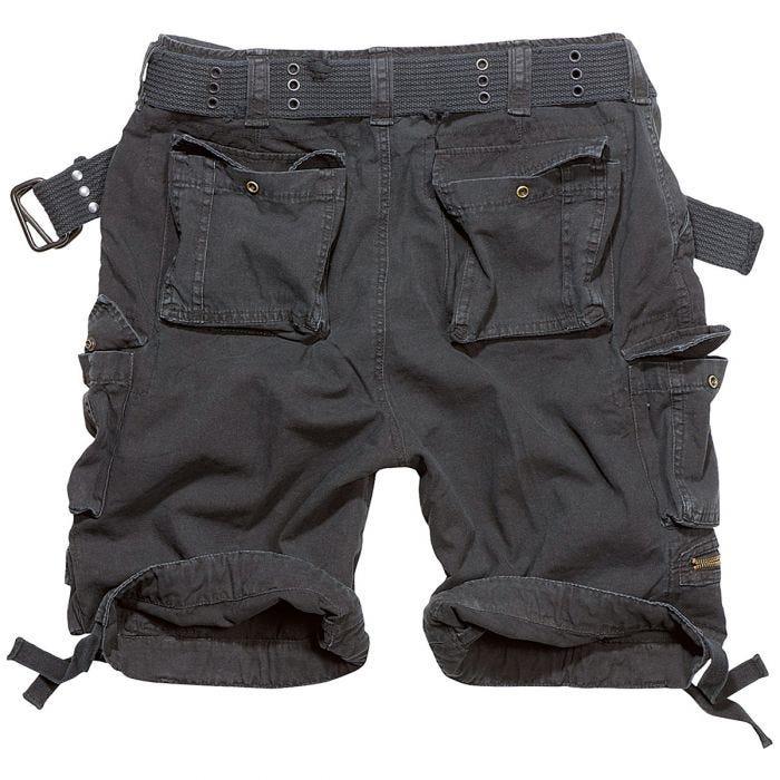 Brandit Savage Vintage Shorts Schwarz