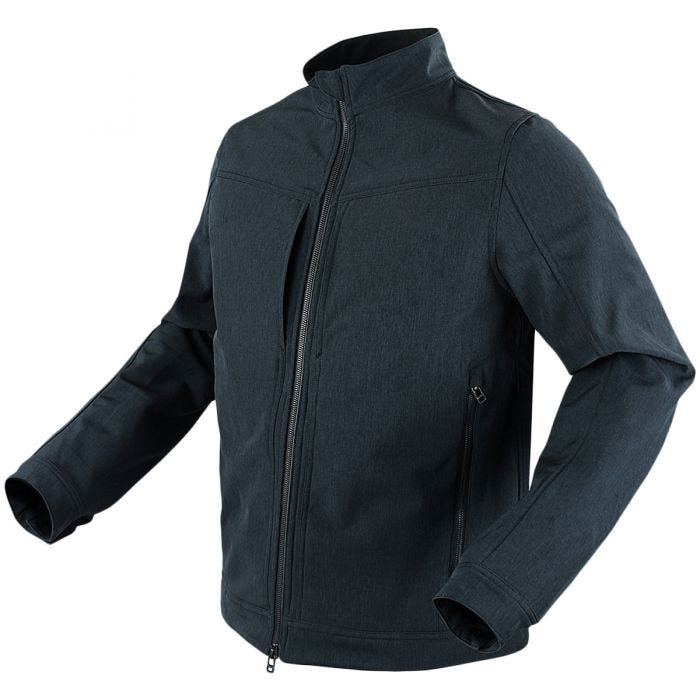 Condor Intrepid Softshelljacke Heather Slate