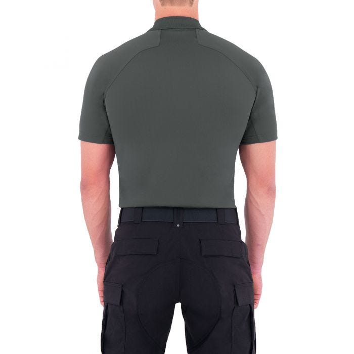 First Tactical Performance Herren Kurzarm-Polohemd Asphalt