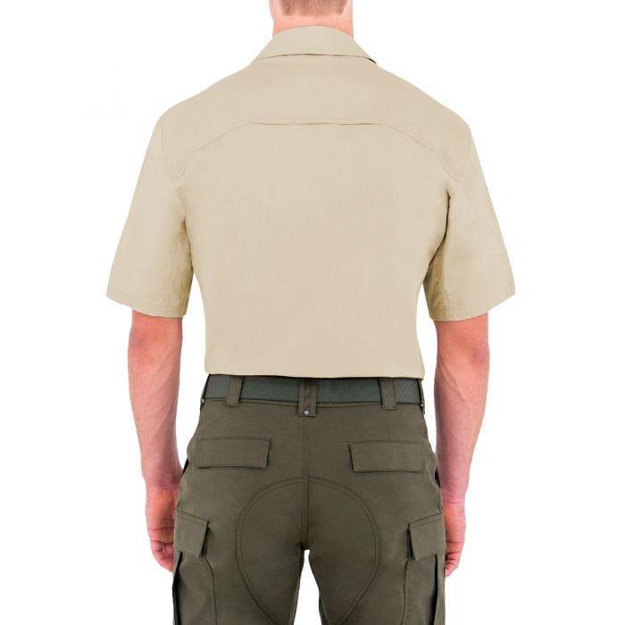 First Tactical Specialist Herren BDU-Hemd kurzärmelig Khakifarben
