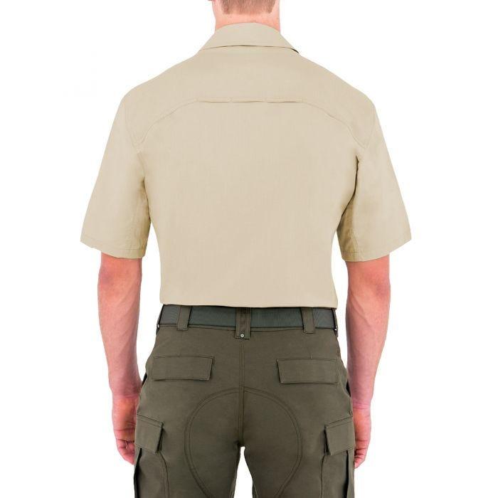 First Tactical Tactix Herren BDU-Hemd kurzärmelig Khakifarben