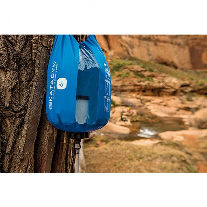 Katadyn Gravity Camp 6L Wasserfilter Blau