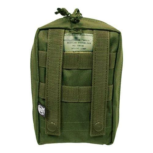 MFH Tasche für Erste-Hilfe-Set mit MOLLE-Befestigungssystem Oliv