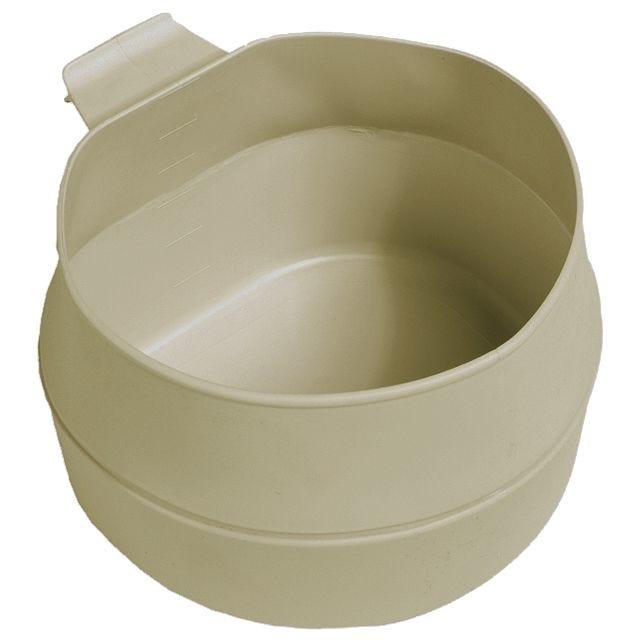 Mil-Tec Fold-a-Cup 200 ml Faltbarer Becher Khaki