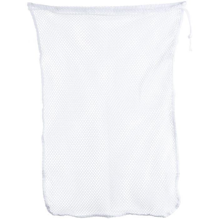 Mil-Tec 50 x 75 cm Netzstoff-Wäschebeutel Weiß