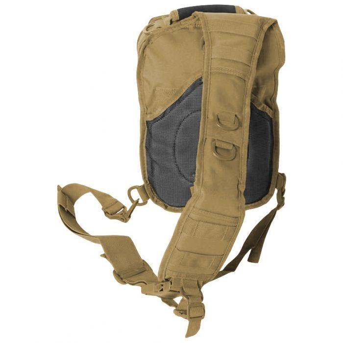 Mil-Tec One Strap Assault Pack Small Einsatzrucksack mit einem Träger Coyote