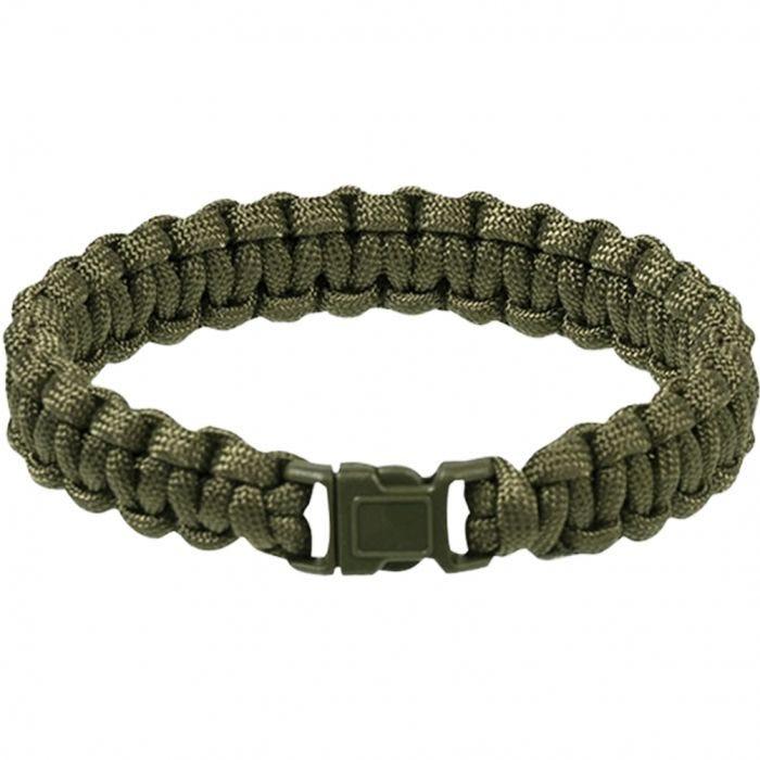 Mil-Tec 15 mm Armband aus Fallschirmschnur Oliv