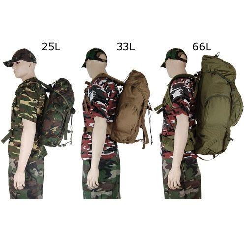 Pro-Force New Forces 66L Rucksack Oliv
