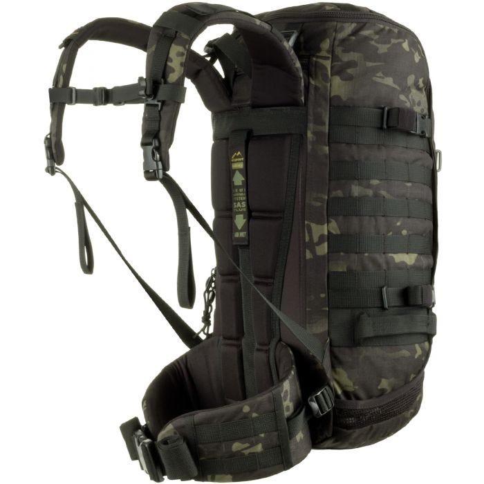 Wisport ZipperFox Rucksack MultiCam Black