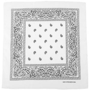 MFH Bandana aus Baumwolle Weiß