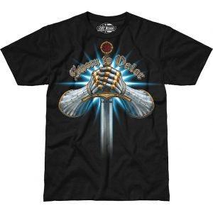 7.62 Design Sworn To Valor T-Shirt Schwarz