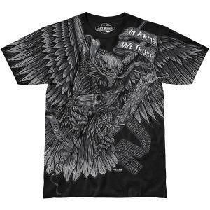 7.62 Design In Arms We Trust T-Shirt Schwarz