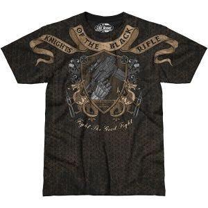 7.62 Design Knights Of The Black Rifle T-Shirt Schwarz