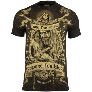 7.62 Design Prepare For War T-Shirt Schwarz