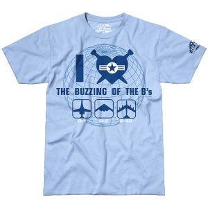 7.62 Design The Buzzing of the B's T-Shirt Sky Blue