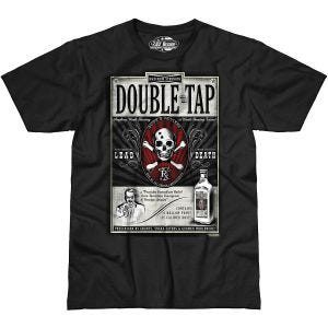 7.62 Design Double Tap T-Shirt Schwarz