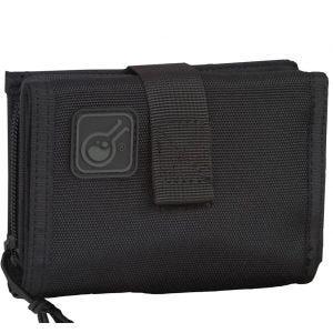 Civilian iWallet 2-in-1 Brieftasche und Handytasche Schwarz
