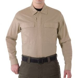First Tactical V2 Herren BDU-Hemd langärmelig Khaki