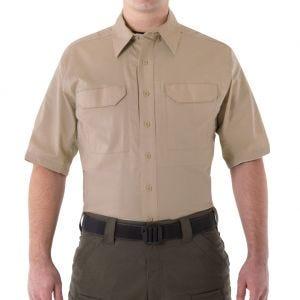 First Tactical V2 Herren Einsatzhemd kurzärmelig Khaki