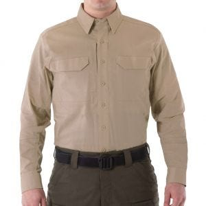 First Tactical V2 Herren Einsatzhemd langärmelig Khaki