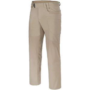 Helikon Hybrid Taktische Hose aus Polyester-Baumwoll-Mischung und Ripstop-Gewebe Khaki