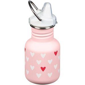 Kid Kanteen 355 ml Trinkflasche mit Sippy Cap Millennial Hearts