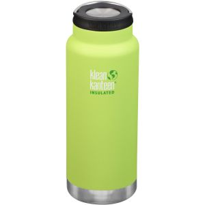 Klean Kanteen TKWide 946 ml Isolierte Trinkflasche mit Loop Cap Juicy Pear