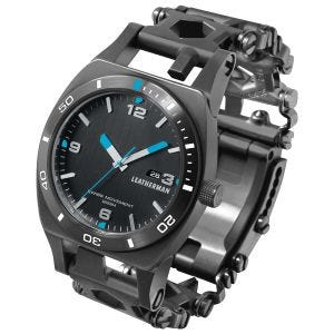 Leatherman Tread Armbanduhr Schwarz