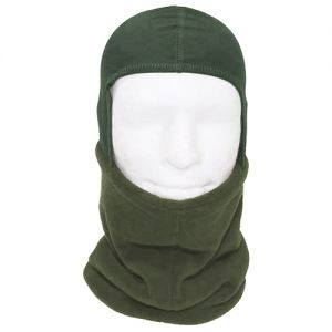MFH Fleece-Schal mit Kapuze OD Green